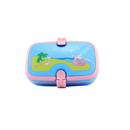 Best Smily Unicorn Lunch Box (Light Blue) Lunch Boxes Online